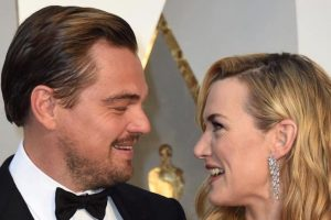 Winslet, DiCaprio quote 'Titanic' lines to each other