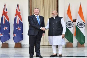 India, New Zealand vow to fight terror together