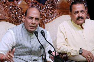 Rajnath calls for 'zero infiltration' along border