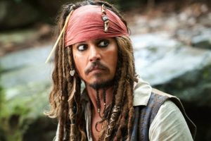 Johnny Depp out of Pirates of the Caribbean franchise