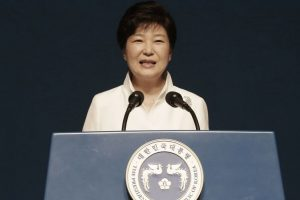 Scandal-rocked S Korean president replaces PM
