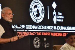 Credibility biggest challenge facing media: Modi