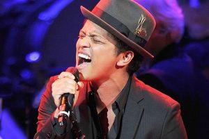 Failure has made me who I'm, says Bruno Mars
