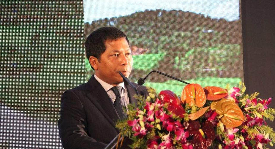 Meghalaya CM inaugurates 40 mw Umtru hydro-electric project