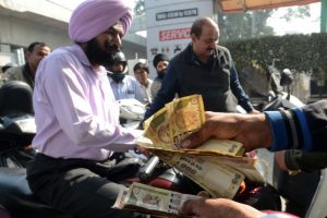 People flock to Mother Dairy, petrol pumps after demonetization