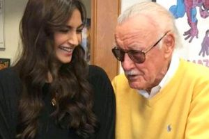 Sonam Kapoor meets Stan Lee in Hollywood