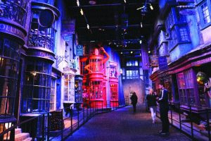 In Harry Potter land