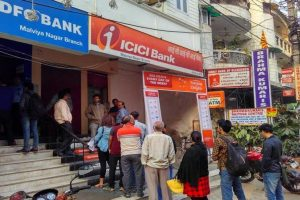 Long queues at banks in national capital