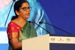 Traditional Indian export markets saturated: Sitharaman