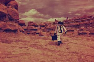 Mars surface too dry to be habitable