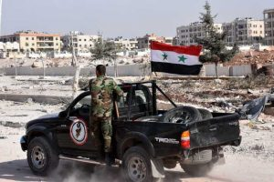 Syrian troops reverse rebel advance west of Aleppo