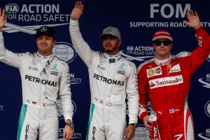Hamilton edges Rosberg for Brazilian pole