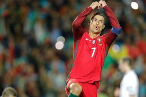WC Qualifiers: Ronaldo scores two as Portugal rout Lativa