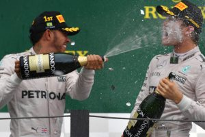 I'm hunting you down, victorious Hamilton warns Rosberg