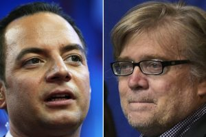 Trump appoints Priebus, Bannon as top White House aides
