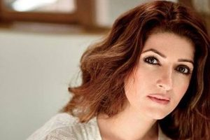 'PadMan' producer Twinkle Khanna at the Oxford Union