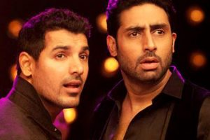Time for reunion: Abhishek Bachchan to 'Dostana' team