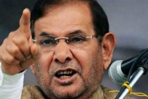 Sharad Yadav attacks Nitish, says 'JD-U is my party too'