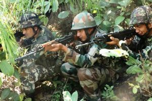 Indo-China joint military training exercise from Tuesday