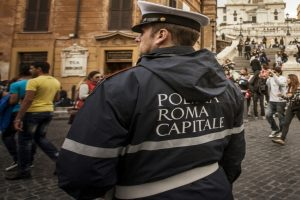 Historic sculpture in Rome vandalised