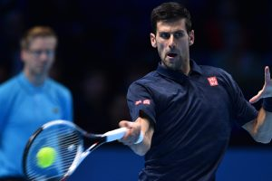World Tour Finals: Djokovic beats Raonic, advances to semis
