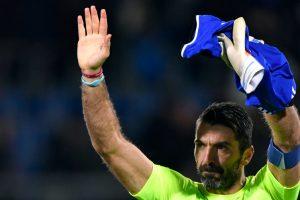 Buffon reaches landmark as Germany hold Italy