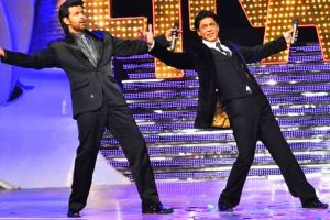 Shah Rukh Khan and I are friends: Hrithik Roshan