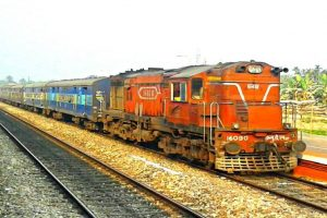 Blockade disrupts railway services in Northeast