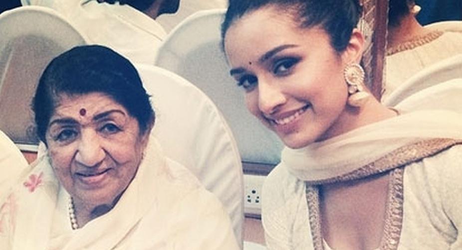 When Lata Mangeshkar praised Shraddha Kapoor