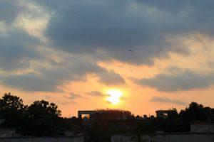 Pleasant Thursday in Delhi