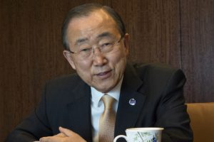 Ban Ki-moon returns to South Korea, poised for presidential bid