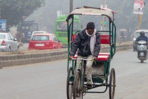 Cold Saturday in Delhi