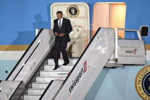 Obama arrives in Peru, his last presidential world tour