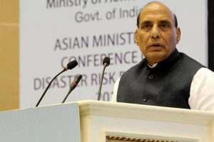 BJP does not discriminate on caste, religion: Rajnath Singh