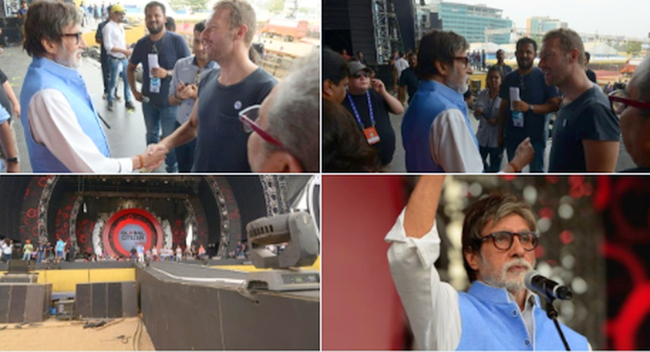 Chris Martin Spreads Coldplay Magic in Mumbai