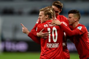 Leipzig beat Leverkusen to go on top of Bundesliga