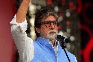 Amitabh Bachchan urges poverty eradication