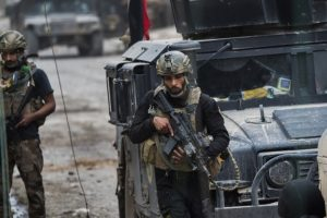 Iraqi forces enter Mosul University in battling IS