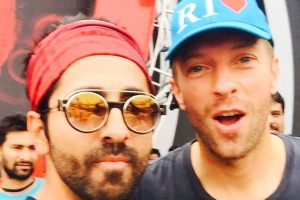 Sharing stage with Chris Martin dream come true: Ayushmann