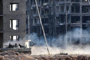 US slams 'heinous' attacks on rebel-held Aleppo