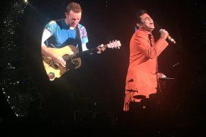 "Chris Martin steals the show by singing ""Vande Mataram"""