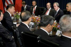 Xi says US-China ties at 'hinge moment'