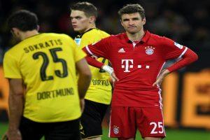 Bayern beaten by Dortmund, lose top spot in Bundesliga