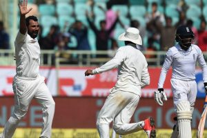 Vizag Test: India cruise to victory as England struggle at 142-7
