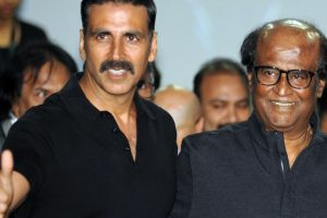 Akshay Kumar real hero of '2.o', says Rajinikanth