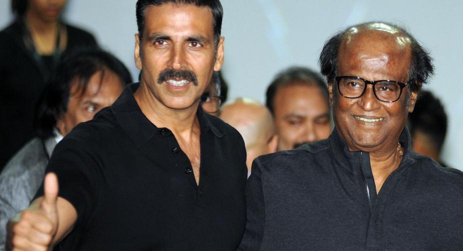 Akshay Kumar real hero of '2.o', says Rajinikanth