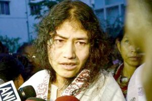 Irom Sharmila kicks off her poll campaign in Manipur