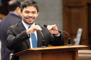 Boxer Pacquiao may run for Philippines presidency