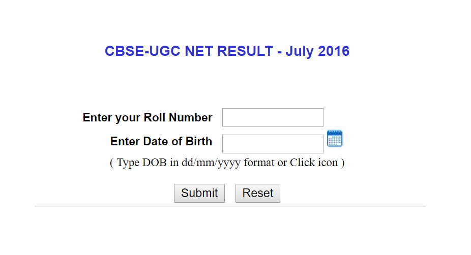 UGC NET 2016 results announced at cbseresults.nic.in | Check now