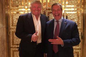 Trump indicates Nigel Farage as next British Ambassador to US
